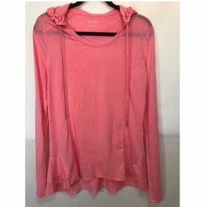 *CALVIN KLEIN* Performance Peachy Pink Pullover